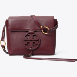 NEW TORY BURCH MILLER CROSSBODY PURSE IN PORT
